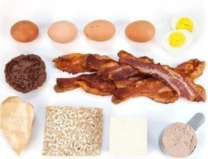 30g of high protein rich food