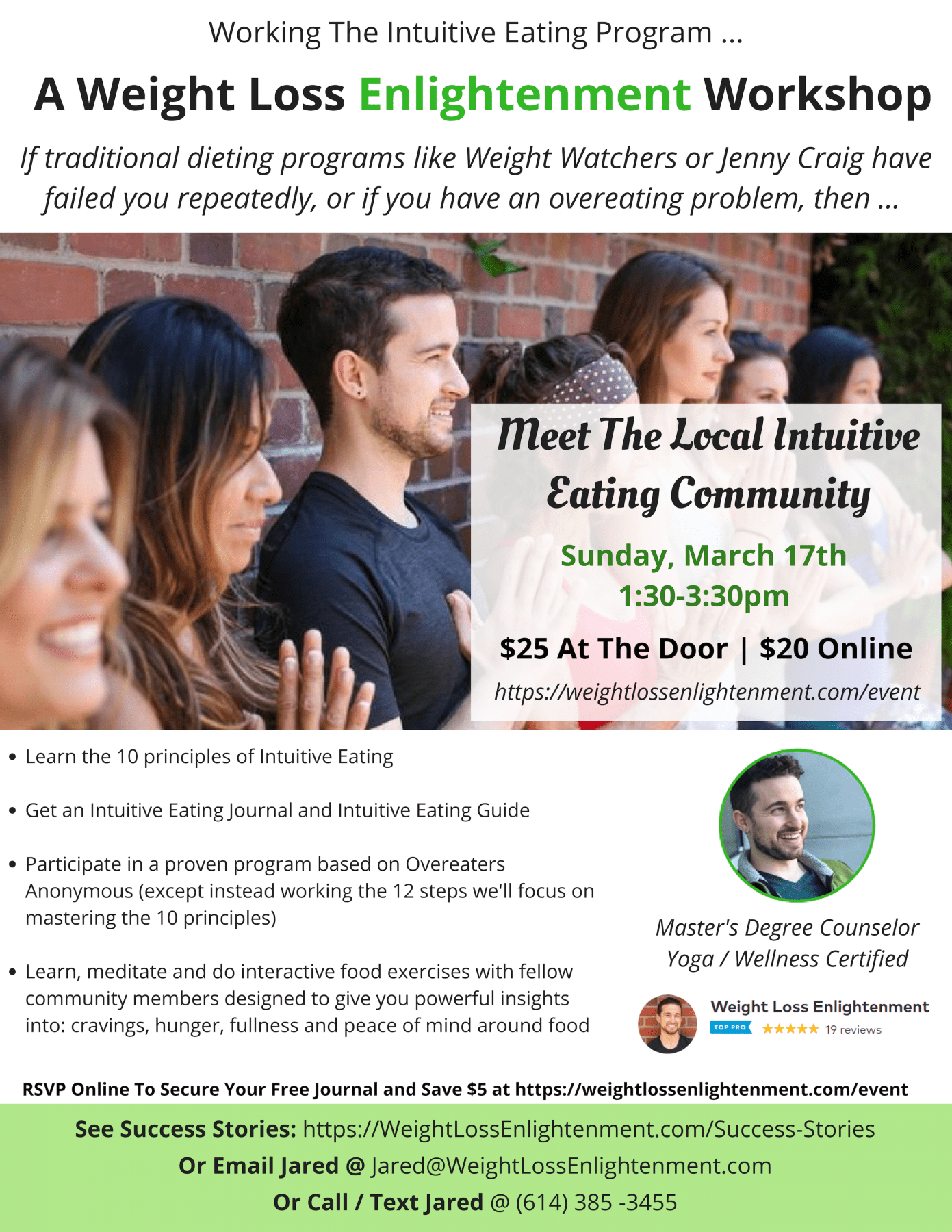 Jared's Weight Loss Enlightenment Workshop (4)