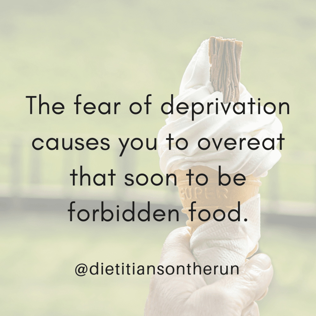 fear of deprivation