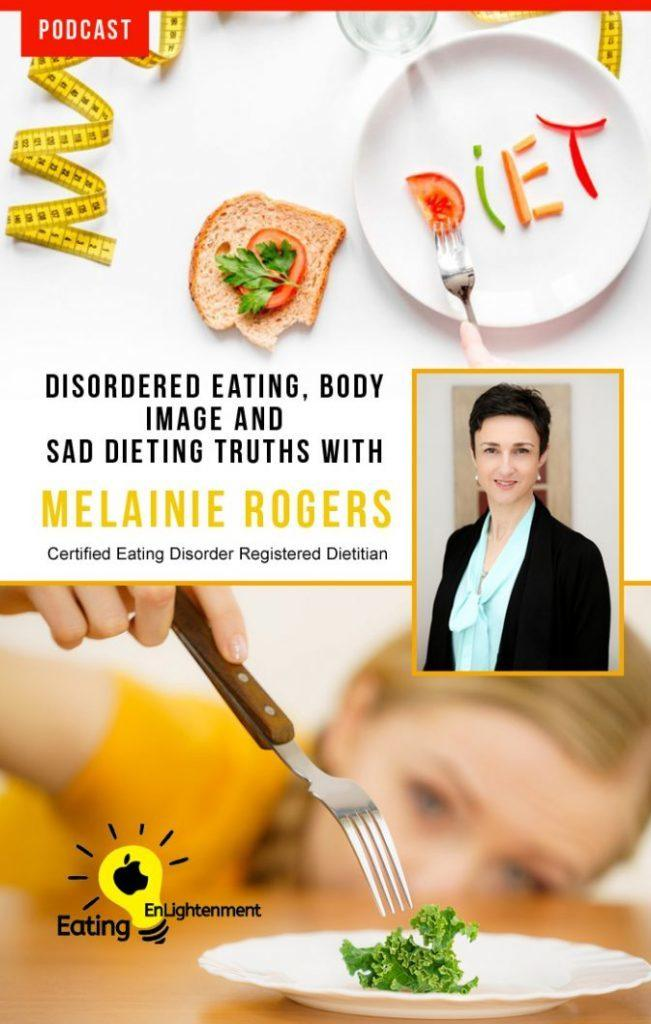 melainie rogers from balancetx pinterest image about disordered eating and body image