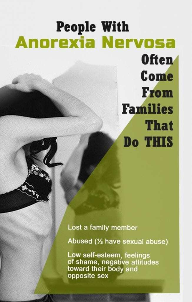 People With Anorexia Nervosa Often Come From Families That Do THIS