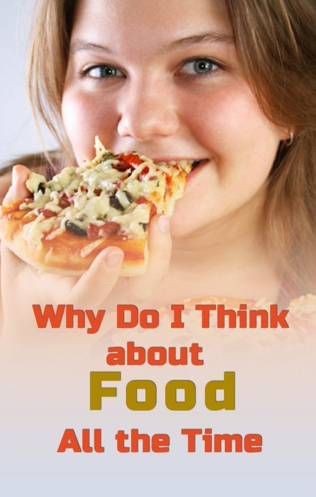 why do i think about food all the time pinterest image