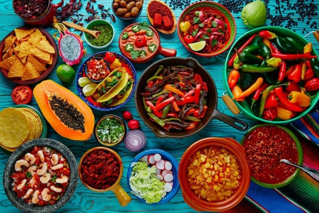 spicy food dishes