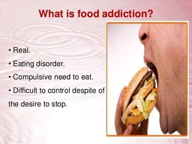 what is a food addiction graphic?